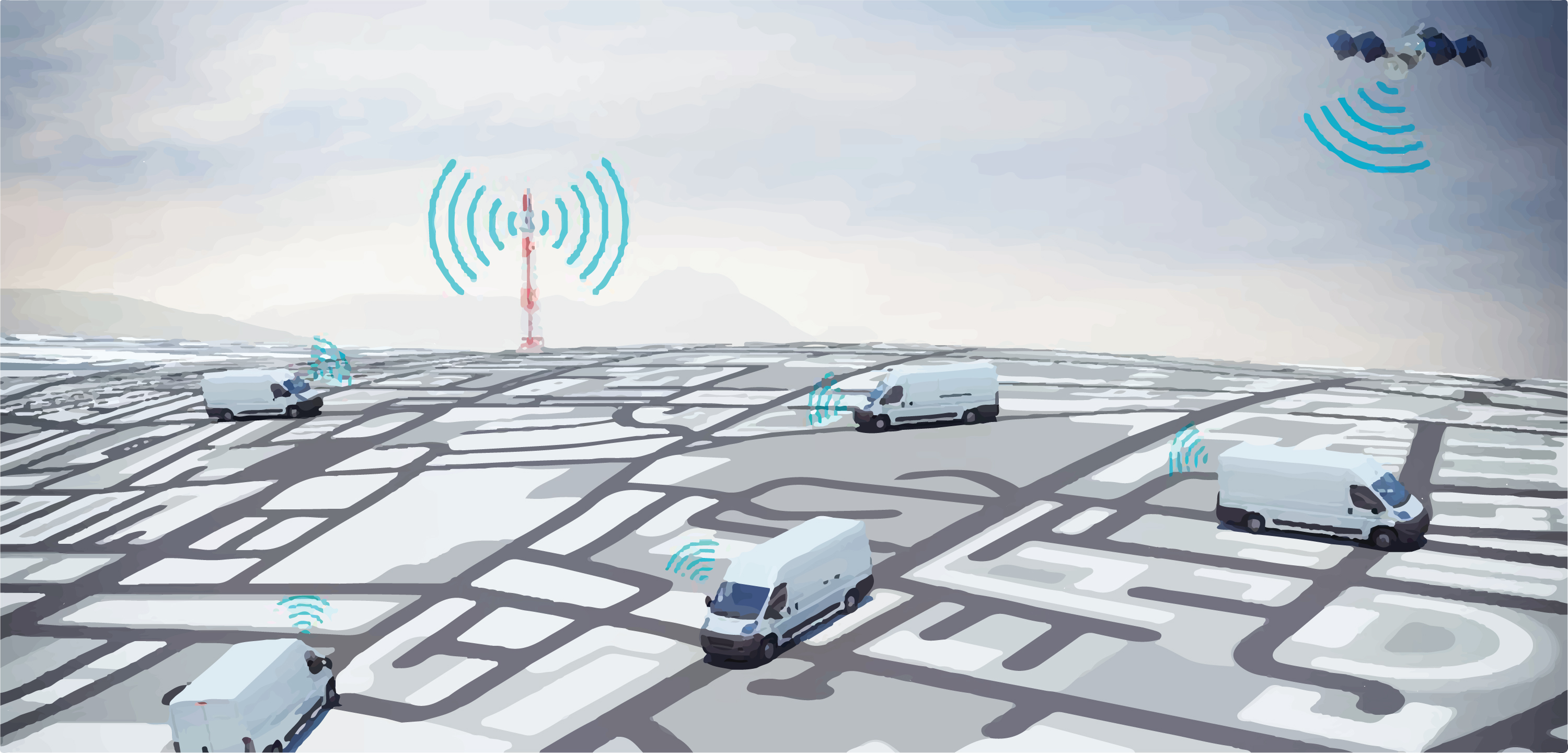 gps monitoring allows you to track transports on the map