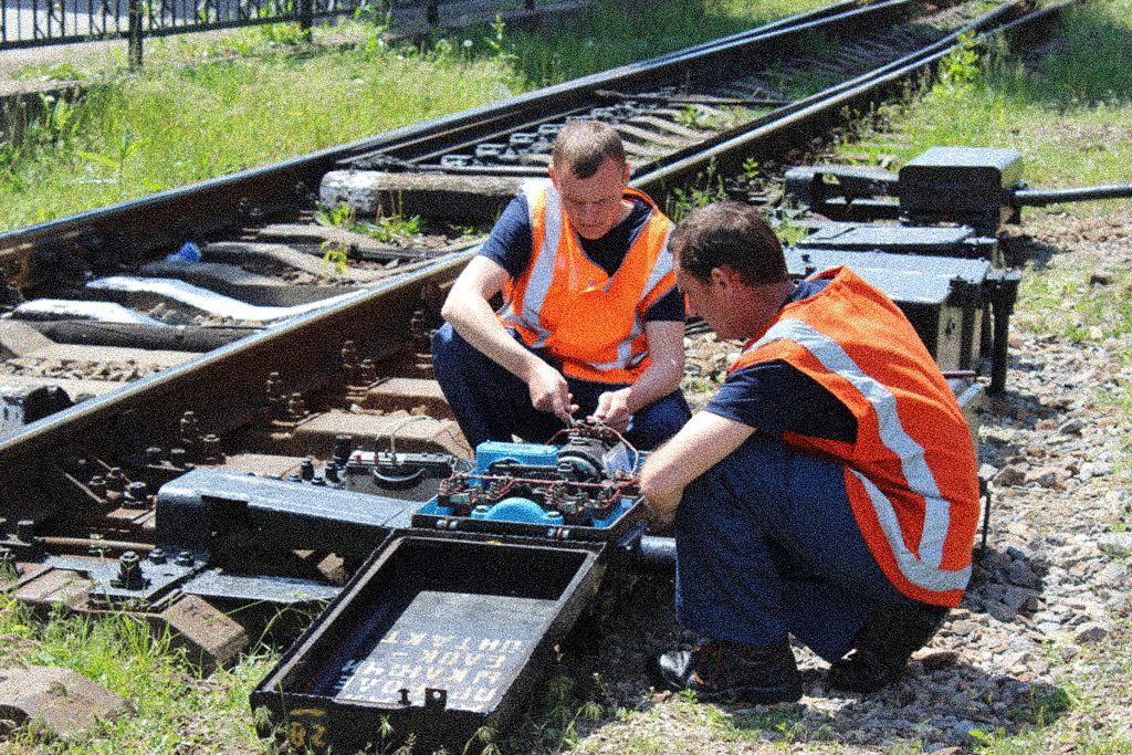 Контроль и автоматизация на железной дороге